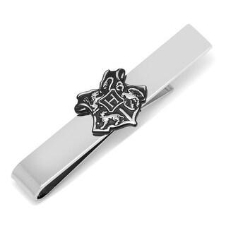 Hogwarts Crest Tie Bar - Silver