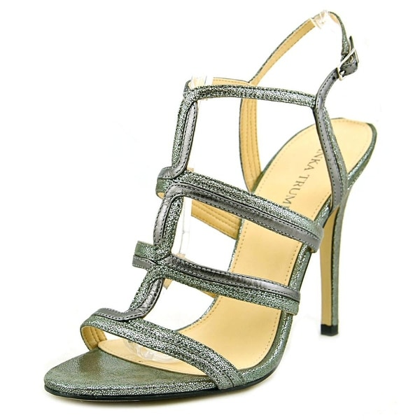 Ivanka Trump Hazen Women Open Toe Leather Sandals