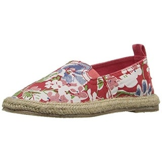 Polo Ralph Lauren Girls Beakon Little Kid Floral Print Espadrilles - 1.5 medium (b,m)