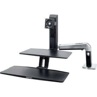Ergotron 24-391-026 Workfit-A With Suspended Keyboard Stand-Up Desk