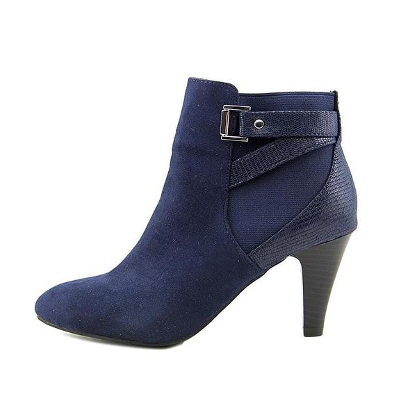 Karen Scott Womens Majar Closed Toe Ankle Fashion Boots, Black, Size 6.0