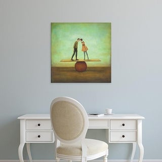 Easy Art Prints Duy Huynh's 'Finding Equilibrium' Premium Canvas Art