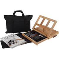 Sketching - Easel Art Set W/Easy To Store Bag