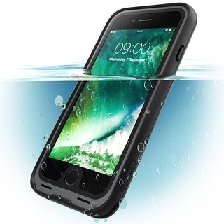 i-Blason-iPhone 7 Plus Case, Waterproof Full-body Case-Black