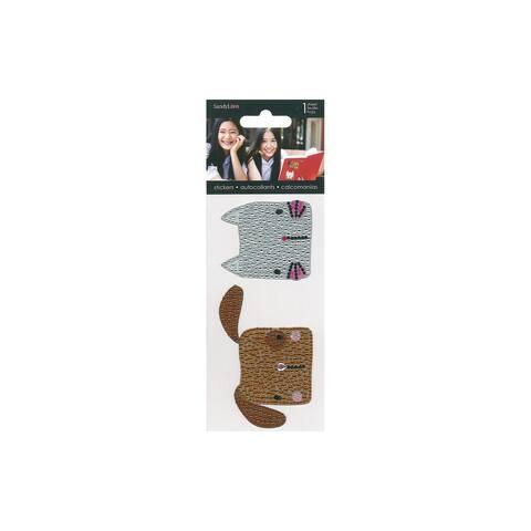 St6204 sandylion sticker rhinestone dog cat
