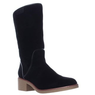 Coach Palmer Pull-On Knee High Boots, Black