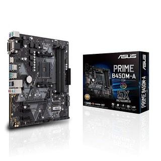 ASUS B450 AMD Ryzen 2 Micro ATX Gaming Motherboard AM4 DDR4 HDMI DVI VGA M.2 USB 3.1 Gen2 (Prime B450M-A/CSM)