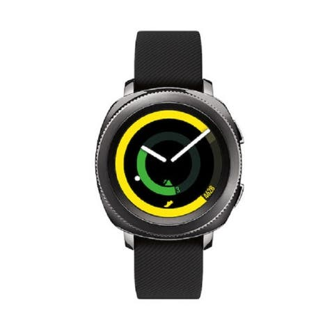 Samsung Gear Sport Smartwatch, Black (SM-R600NZBAXAR) (Refurbished)