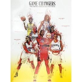 Basketball Poster Black Women WNBA (18x24)