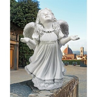 IN GODS GRACE ANGEL STATUE DESIGN TOSCANO religious Christian angels