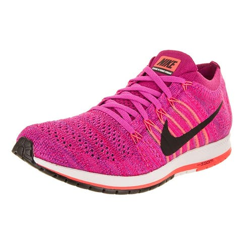 size 40 24012 86bb8 Nike Womens Flyknit Streak Low Top Lace Up Running Sneaker