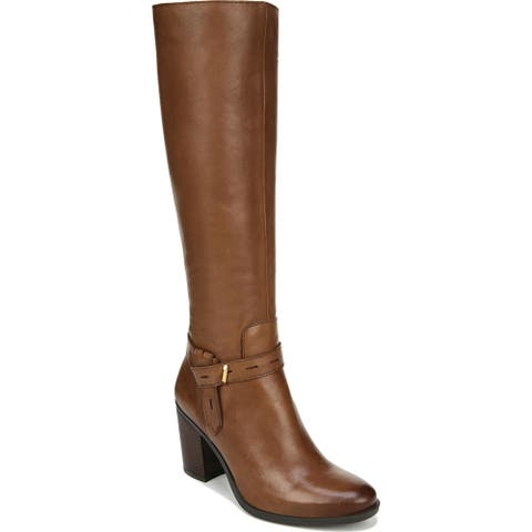 Naturalizer Womens Kamora Knee-High Boots Leather Tall