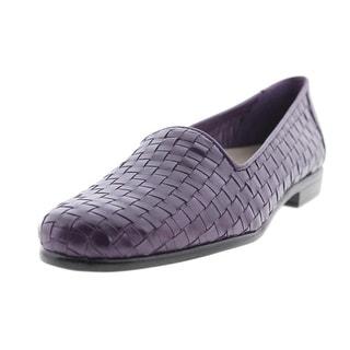 Trotters Womens Liz Flat Smoking Loafers