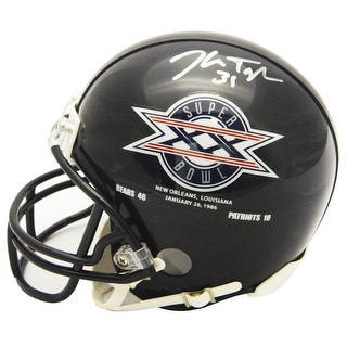 Ken Taylor Chicago Bears Super Bowl XX Champs Logo Riddell Mini Helmet