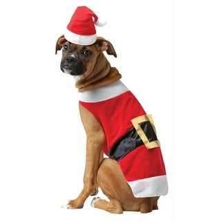 Costumes For All Occasions GC5027XL Pet Costume Santa