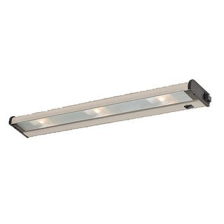 CSL Lighting NCAX120L-24 24 Inch Three Light Xenon Under Cabinet Lamp with Speedlink from the CounterAttack Collection