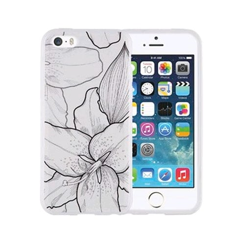 Xentris Soft Shell Case for Apple iPhone 5C - Lilies