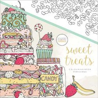 Sweet Treats - KaiserColour Perfect Bound Coloring Book