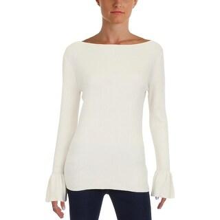 Lauren Ralph Lauren Womens Pullover Sweater Boatneck Slim Fit