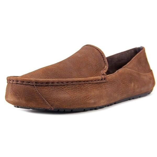 Ugg Australia Hunley Men Moc Toe Leather Loafer