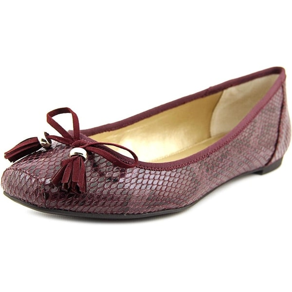 Alfani Camroon T Round Toe Synthetic Ballet Flats