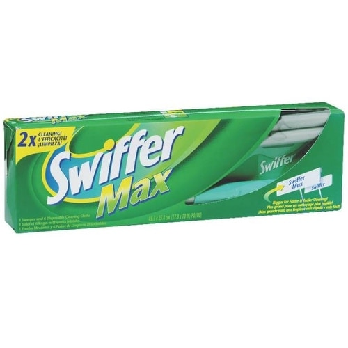 Shop Swiffer 92817 Swiffer Max Xl Sweeper Kit 18 Quot X 10 Quot X