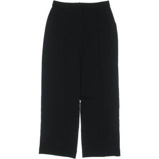 Theory Womens Adamaris Dress Pants Crepe Pleated