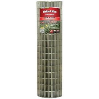 "YardGard 308313B Galvanized Welded Wire Fence, 14-Gauge, 4""x2"" Mesh, 60"" x 100'"
