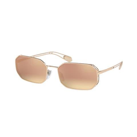 Bvlgari BV6125 20144Z 57 Pink Gold Woman Irregular Sunglasses