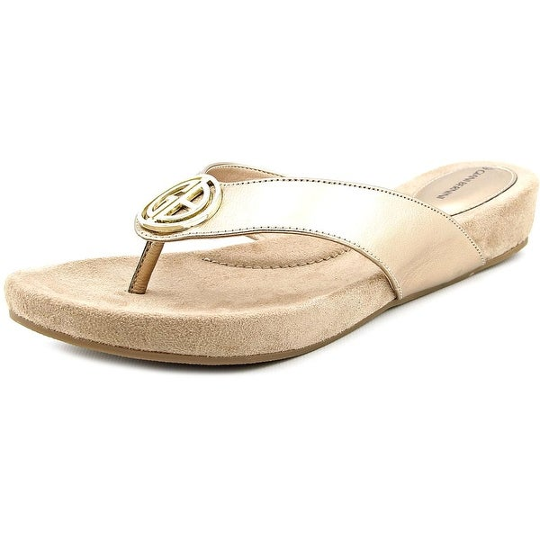 Giani Bernini Racchel Women Oro Sandals