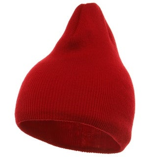 Short Beanie - Red