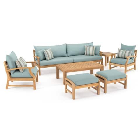 Kooper 8pc Sofa & Club Chair Set by RST Brands