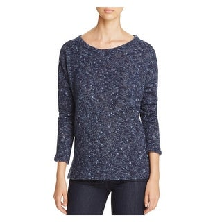 Sanctuary Womens Pullover Sweater Marled Popover