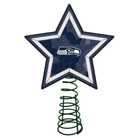 Seattle Seahawks Mosaic Tree Topper