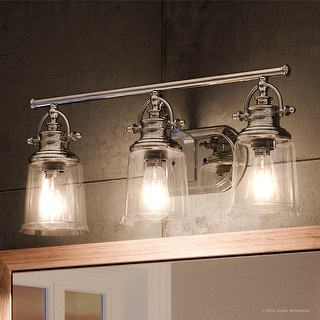 Shop Luxury Industrial Bathroom Vanity Light 9 5 Quot H X 23 Quot W