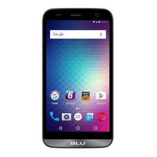 BLU Dash XL D710U Unlocked GSM Quad-Core Phone - Gray (Certified Refurbished) - Grey