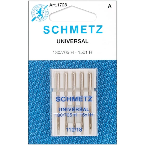 Universal Machine Needles-Size 18/110 5/Pkg