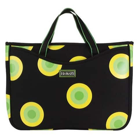 Hadaki by Kalencom Women's Neoprene 15.4 Laptop Sleeve/Tote O'Bubbles Yellow - US Women's One Size (Size None)