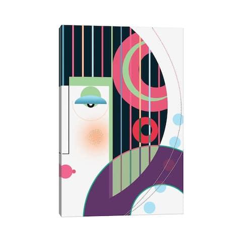 "iCanvas ""Geisha Girl"" by Soul Curry Art & Illustrations Canvas Print"