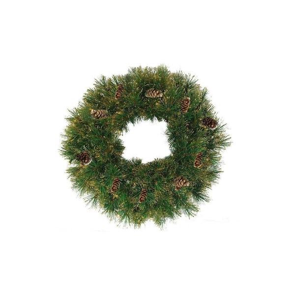"24"" Yorkville Pine Artificial Christmas Wreath - Unlit"