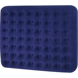 """75"""" Navy Blue Double Sized Indoor/Outdoor Inflatable Air Mattress"""