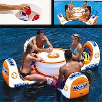 Wow Sports 14-2010 Island Table Inflatable And Towable