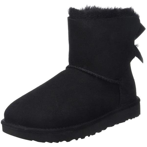 9715dc2e49c Shop UGG Women's Mini Bailey Bow II Winter Boot - Free Shipping ...