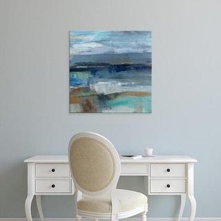 Easy Art Prints Silvia Vassileva's 'Wave Crop II' Premium Canvas Art