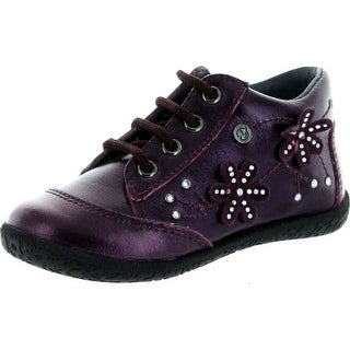 Naturino Girls 2101 European Fashion Lace Up Booties