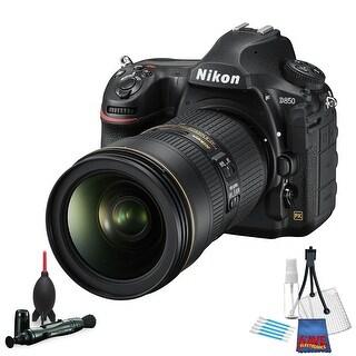 Nikon D850 FX-format Digital SLR Camera Body International Version (No Warranty) w/ Nikon AF-S FX NIKKOR 24-70mm f/2.8E ED Lens