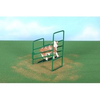 Little Buster Toy Heavy Duty Metal Cattle Loading Ramp Green 500211