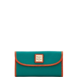 Dooney & Bourke Pebble Grain Continental Clutch Wallet (Introduced by Dooney & Bourke at $128 in Apr 2018)
