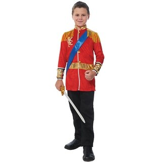 Franco Prince Child Costume - Red (3 options available)