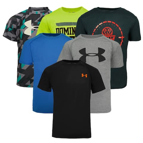 d42f125b3 Under Armour Boy s T-Shirt 5-Pack Holiday Gift Set - Assorted